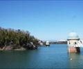 多摩湖取水塔